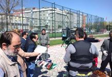 Türkiye'nin internette yayınlanan ilk aksiyon dizisi İNTİKAM PEŞİNDE'nin galası sıcak bir atmosferde gerçekleştirildi.