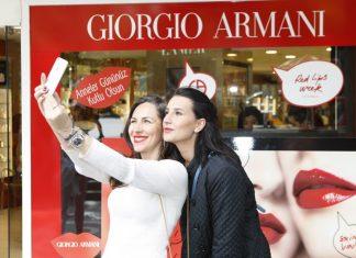 Loreal markasının ürün grubunda yer alan Yves Saint Laurent ve Giorgio Armani markaları, yeni sezona ait ruj ve parfüm lansmanlarını Ankaralılar ile buluşturdu.