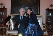 Avusturya Büyükelçisi Klaus Wölfer ve sıcakkanlı, güler yüzlü eşi Dianne Wölfer, elçilik rezidansında MAG Dergi'yi ağırladı.
