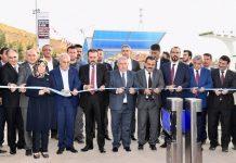 Bir zoru başardıklarını ve uluslararası standartlarda kapsamlı bir projeyi hayata geçirdiklerini dile getiren Onikişubat Belediye Başkanı Hanefi Mahçiçek.