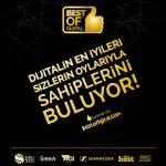Türkiye'deki dijital sektörün 'en'leri 15-21 Mayıs tarihleri arasında bestofdijital.com adresinden gerçekleştirilecek oylama sonucu seçilecek.