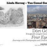 """Tan Cemal Genç, yıllardır """"mega şehir"""" İstanbul'da yaşıyor ve çiziyor. Bu yaşlı ve kaotik şehir, onun ritmik ve tek çizgili çizimlerinin ayrılmaz bir parçası. Animasyon çalışmalarının da dokusunu oluşturuyor."""