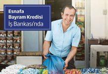 Esnafa Bayram Kredisi kampanyası ile ilgili detaylı bilgi.