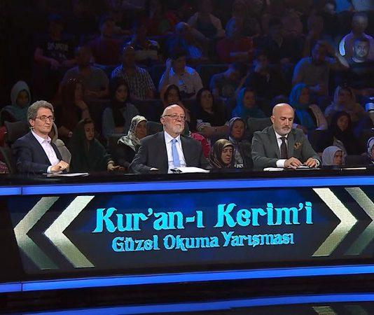 """""""Kur'an-ı Kerim'i Güzel Okuma Yarışması""""nın Büyük Finali, Kadir Gecesi'nde canlı olarak TRT 1 ekranlarında yayınlanacak."""
