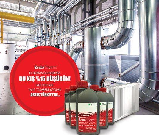 Yüzde 15 yakıt tasarrufu sağlayan çevreci EndoTherm'i Türkiye'ye getiren Kurtuluş Şahan, su ile çalışan ısıtma sistemlerinde kullanılan yeni ürününü 'sudan bile ucuz' olarak tanımlıyor.