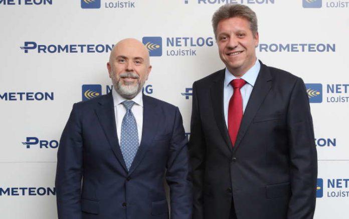 Prometeon Türkiye, Netlog Lojistik görslei CEO Haber'de.