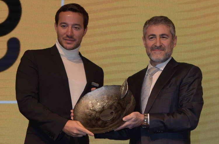 Emir Bahadır ve Hazine ve Maliye Bakanı Yardımcısı Nureddin Nebati görseli CEO Haber'deç