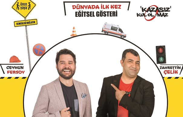 Ceyhun Fersoy ve Zahrettin Çelik Görseli.