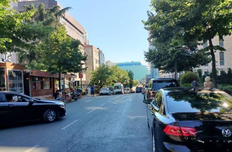 Fulya Mahallesi Bahçeler Sokak. görseli CEO Haber'de.